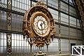 Musée d'Orsay clock, Paris 4 July 2019 02.jpg