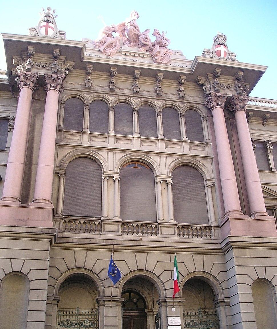 Museo civico di storia naturale di Genova (facciata)