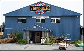Alaska lunar sample displays - Alaska Transportation and Industry Museum
