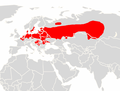Myotis dasycneme range map.png