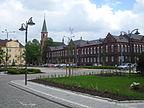 Bogumin, Kraj morawsko-śląski, Czechy - Widok na