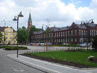 Bohumín Town in Moravian-Silesian, Czech Republic