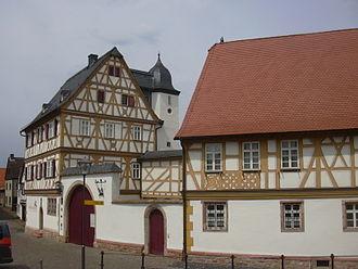 Großostheim - Nöthig-Gut at the marketplace (Bachgaumuseum)