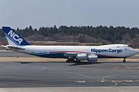 JA18KZ - B748 - Nippon Cargo Airlines