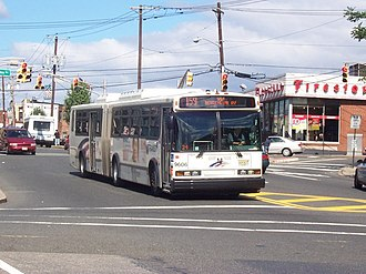 Nungessers - The 159 travels along busy Anderson-Bergenline corridor.