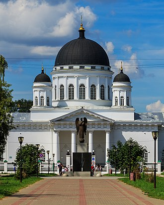 Auguste de Montferrand - Saviour (Old Fair) Cathedral, Nizhny Novgorod