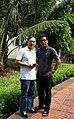 NSƯT Lý Quang Trung, Giám đốc hiện nay của Hãng phim Truyền hình Thành phố Hồ Chí Minh (bên tay phải).jpg