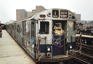 R36 (New York City Subway car) - Image: NYC R36 1 subway car