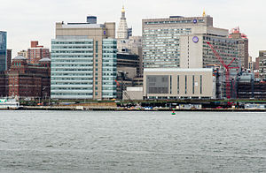NYU Langone Medical Center - NYU Langone as seen from across the East River