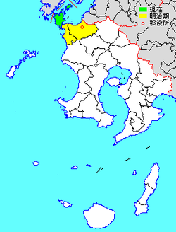 Vị trí của Nagashima ở Kagoshima