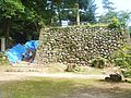 Nagayama Castle Honmaru Stone wall.jpg