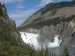 Nahanni National Park Reserve - Virginia Falls