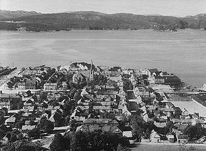 Namsos Line - Namsos in 1938