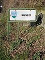 Naphegy sign, Route 12, 2020 Zebegény.jpg