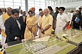 Narendra Modi at the inauguration of the New Civil Air Terminal, at Chandigarh airport. The Governor of Punjab and Haryana and Administrator, Union Territory, Chandigarh, Prof. Kaptan Singh Solanki (1).jpg
