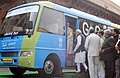 Narendra Modi attends a function for Demonstration of Retrofit Electric Bus, at Parliament House, in New Delhi on December 21, 2015. The Speaker, Lok Sabha, Smt. Sumitra Mahajan and other dignitaries are also seen.jpg