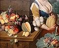 Nathaniel bacon, cuoca con natura morta di verdura e frutta, 1620-25 ca. 02.jpg