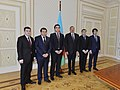 National men's team of Azerbaijan, who took first place at the European Team Chess Championship.jpg