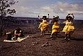 Native Hawaiians performing a dance with a musician playing a Ipu Heke at Hawai'i Volcanoes National Park. (426903d78c8b4f2d8839e8577c2ba0bb).jpg