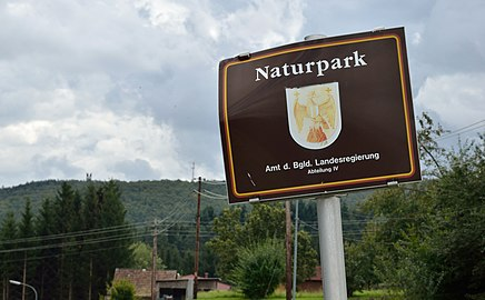 Naturpark sign, Lockenhaus.jpg