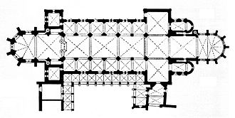 Naumburg Cathedral - Floor plan of the cathedral