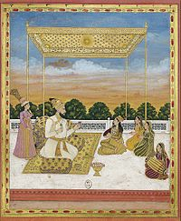 Nawab Muhammad Khan Bangash, ca 1730, Bibliothèque nationale de France, Paris