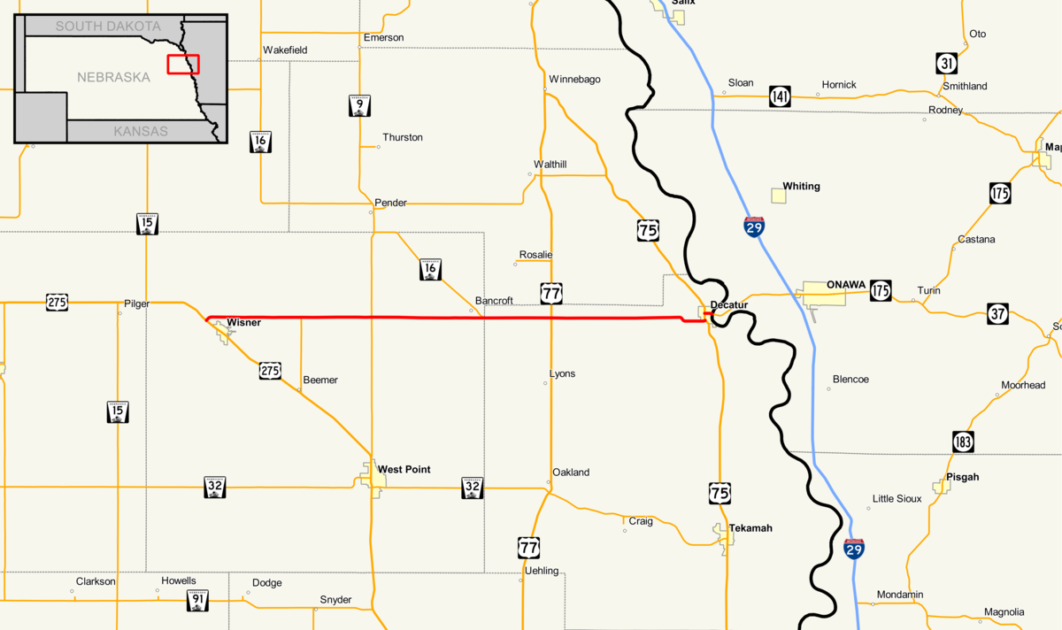 nebraska highway 51 - wikipedia