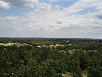 Nebraska Outback - Nebraska National Forest in the Nebraska Outback.