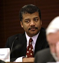 Dr. {{w|Neil deGrasse Tyson}} at the November ...