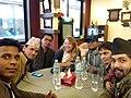 Nepali Wikimedians with Nichole Saad.jpg