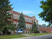 Uma escola de Ottawa.