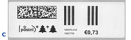 Netherlands stamp type PC-B2C.jpg