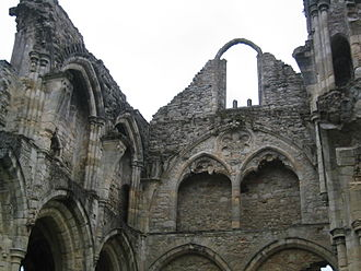 Borough of Eastleigh - Netley Abbey is a scheduled ancient monument.