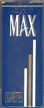 Max Cigarette Wikipedia