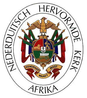 Dutch Reformed Church in South Africa (NHK) - Image: Nhkwapen
