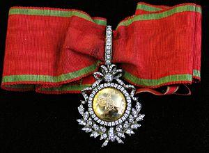 Order of Glory (Ottoman Empire) - Image: Nişan ı İftihar of the Ottoman Empire