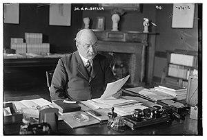 Nicholas Murray Butler - Butler in 1916