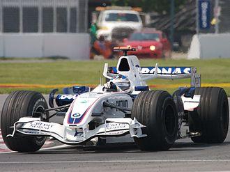 BMW Sauber F1.07 - Image: Nick Heidfeld 2007 Canada