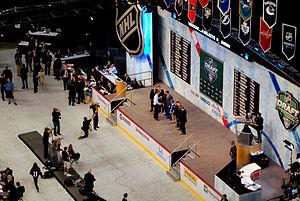 2011–12 Vancouver Canucks season - Image: Nicklas Jensen 2011 NHL Draft