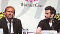 Nicolas Cage & Jay Baruchel at WonderCon 2010 1.JPG