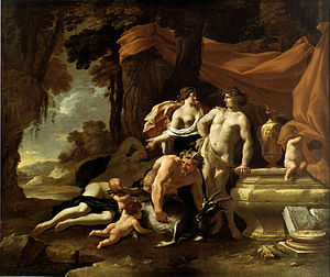 Nicolas Chaperon - The Union of Venus and Bacchus, 1639, Dallas Museum of Art