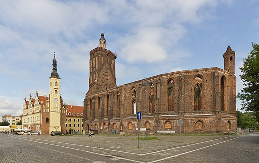 Stadtkirche in Gubin (Polen).