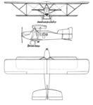 Nieuport Delage NiD.30 3-view Les Ailes June 23, 1921.png
