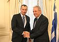 Nikolay Mladenov and Dimitris Avramopoulos July 4, 2012.jpg