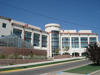New Mexico Highlands University - Ivan Hilton Science Center