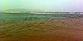 Noon time view at Bheemunipatnam beach 01.jpg