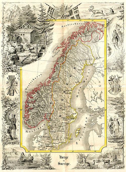 Den Svensk Norske Union Wikiwand