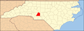 North Carolina Map Highlighting Stanly County.PNG