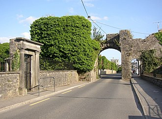 Fethard, County Tipperary - The North Gate.