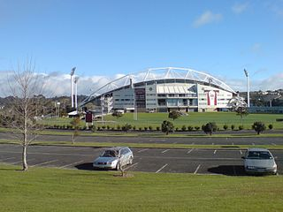 North Harbour Stadium sports stadium in Auckland, New Zealand